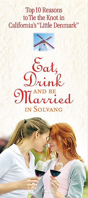 Gay weddings in Solvang
