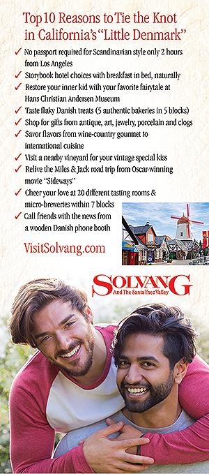 Gay Weddings in Solvang - guys