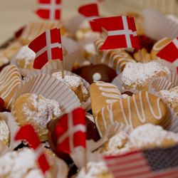 Solvang Danish Days - Danish pastries, cookies and aebleskiver